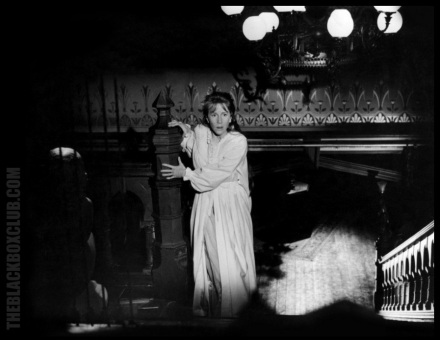 Julie Harris as Eleanor Lance in Robert Wise's 1963 movie adaptation of The Haunting Of Hill House