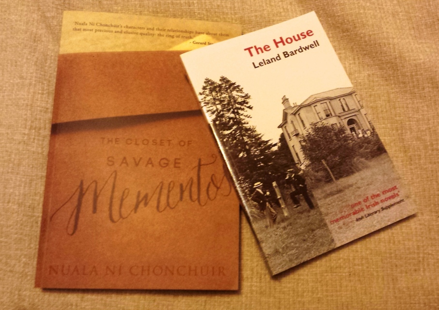 The Closet of Savage Mementoes and The House could be winging their way to you next week!