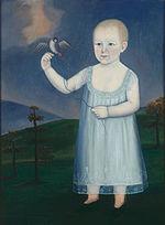 Francis O. Watts with Bird (1805) by John Brewster