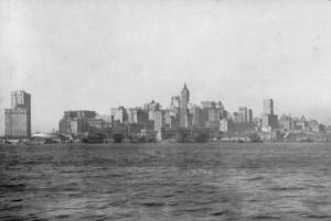 New York Skyline, 1908