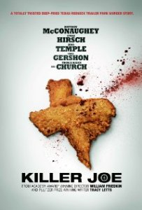 Movie poster featuring the notorious chicken leg