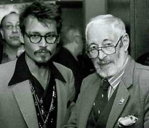 Depp & Donleavy photographed in 2005