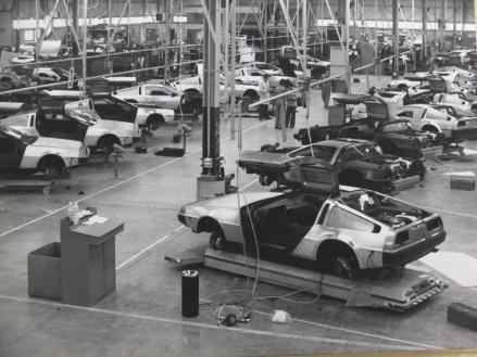 The shop floor of the Dunmurry plant