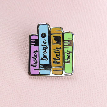 normal_literature-ladies-enamel-pin