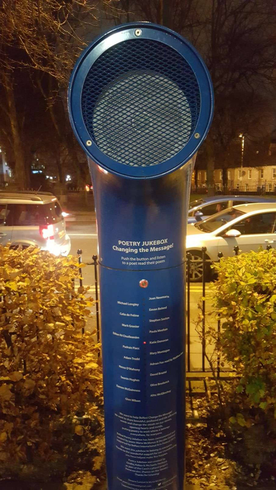 Poetry jukebox