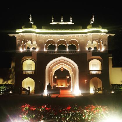Entrance to the Rajmahal Palace