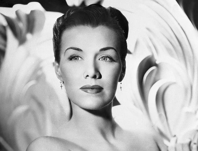 Actress Jean Spangler