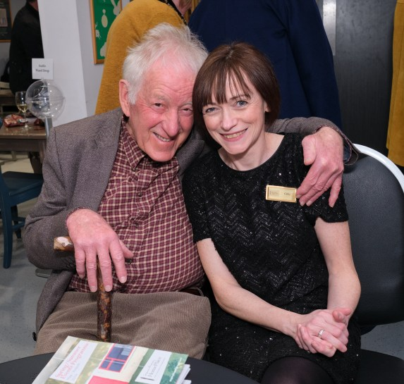 With Hugh Heaney