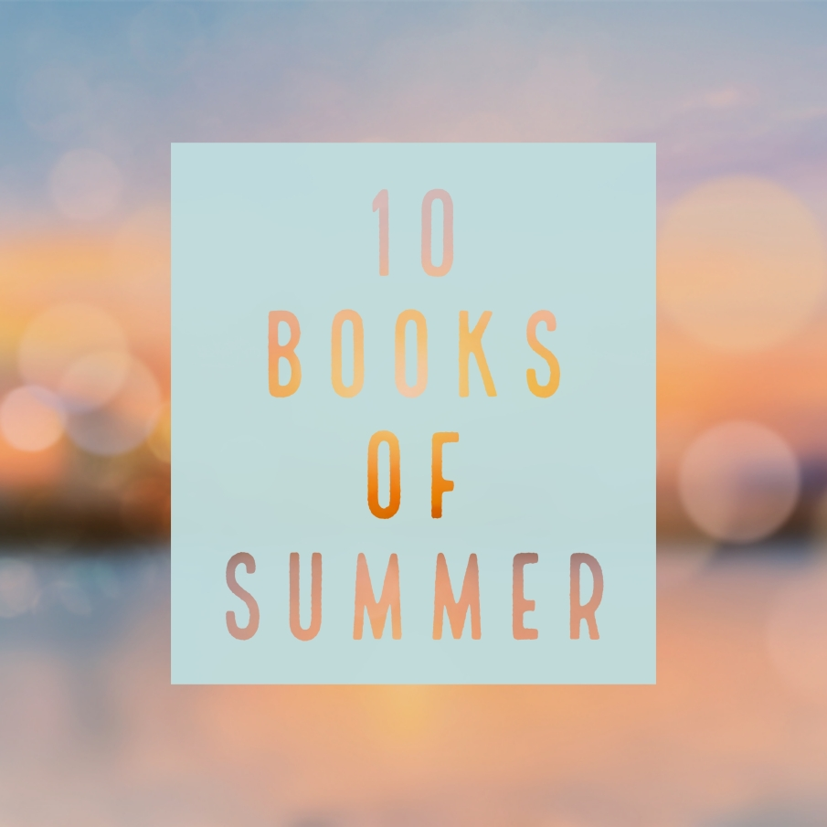 10 Books of Summer graphic.